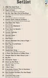 NY Set List